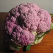 Purple Sicily Cauliflower Heads